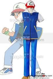pokemon ash ketchum cosplay costume pokemon cosplay costume