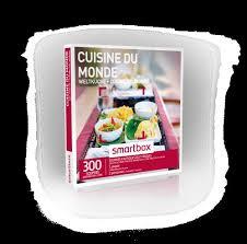 smartbox cuisine du monde coffret cadeau smartbox cuisine du monde coffrets cadeaux fnac