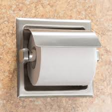 bobrick b 6697 recessed toilet tissue dispenser with stainless