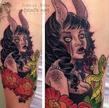 minds eye tattoo emmaus hours demon girl tattoo by joshua ross at mind s eye tattoo in emmaus pa