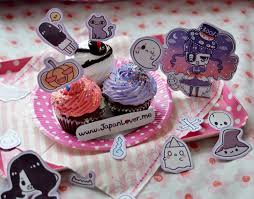 spooky cute halloween cupcake toppers ft japanlover me kawaii