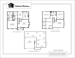 the north beach home plans dalamar homes