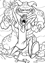 coloring pages scooby 9291 bestofcoloring com