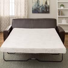 Mattress For Sofa Sleeper Innerspace 4 5 Inch Memory Foam Size Sofa Sleeper Mattress