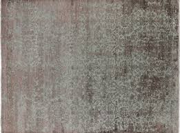 Silk Area Rugs 9 X 12 Modern Knotted Wool Silk Area Rug
