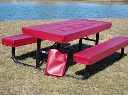 fitted picnic table covers picnic table covers image collections table decoration ideas