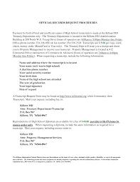 Transcript Request Letter Exle requisition letter format transfer request form sle resume