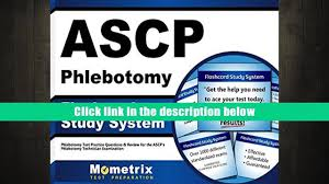 free download ascp phlebotomy exam flashcard study system