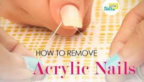 how to maintain acrylic nails at home fab how