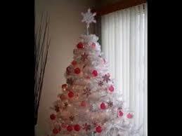 white tree decor ideas