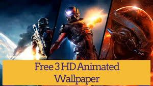 mass effect andromeda 4k wallpapers mass effect andromeda hd animated wallpaper youtube