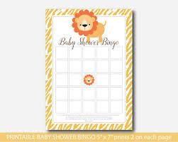 safari bingo cards safari baby shower bingo game bs3 02 u2013 js