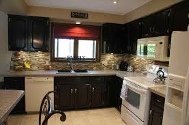 Gel Stain On Kitchen Cabinets by Staining Kitchen Cabinets Colors Best Home Decor