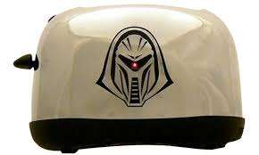 Maple Leafs Toaster Limited Edition Cylon Toaster As Seen In The Big Bang Theory
