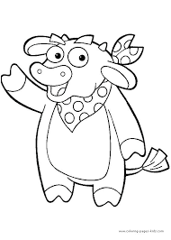 dora coloring pages for toddlers best nick jr coloring pages images on colouring dora coloring pages