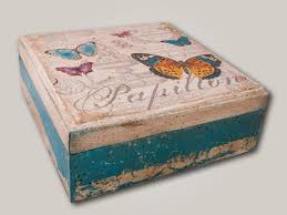 Decoupage Box Ideas - 50 ideas decoupage boxes 012 home decor ideas