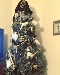 halloween christmas trees for spooky decorations this holiday season