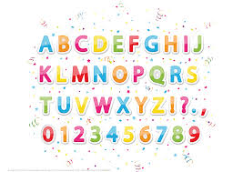 printable stickers of english alphabet letters and numbers free