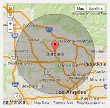 map of burbank ca chion portable toilets in burbank ca call 888 263 8822