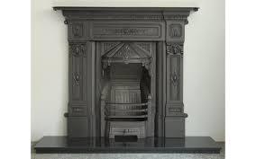 derby cast iron fireplace