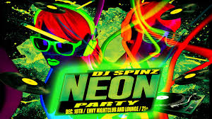 neon party dec 10th neon party envy nightclub and lounge