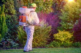 chemical care when exposing lawn landscape workers