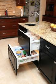 kitchen cabinets roll out shelves stylish pull out kitchen drawers