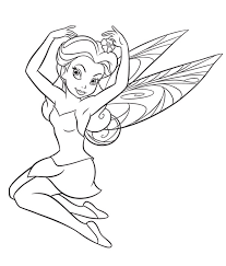 fairy coloring pages disney fairies colouring pages print