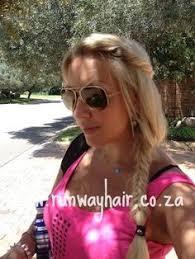 runway hair extensions bffs bailey schneider karolina sky wearing runway hair