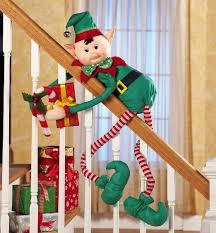 elvin elf bendable hugger christmas decoration this is so
