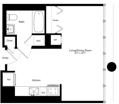 500 Sq Ft Studio 170 Amsterdam Apartments In Upper West Side Nyc 170 Amsterdam