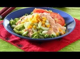 cara membuat salad sayur atau buah cara membuat salad dari sayuran dan buah buahan youtube