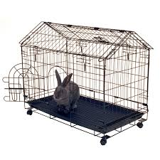 Bunny Cages Rabbit Cage With Pull Out Tray All Pet Cages