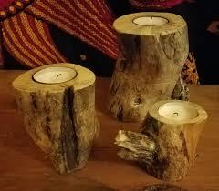 natural wood tea light holder u2013 medium u2013 eric dean practical art