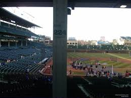 Chicago Cubs Seat Map by Wrigley Field Section 224 Chicago Cubs Rateyourseats Com