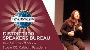 speakers bureau speakers bureau district 100 toastmasters