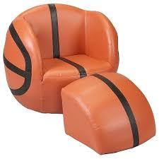 chambre basketball fauteuil pour enfants ballon basketball déco chambre enfants