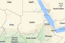africa map khartoum khartoum denies closing borders with south sudan libya africa