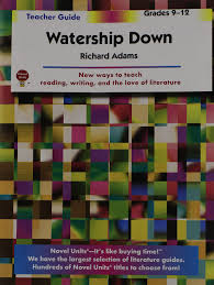 watership down teacher guide by novel units inc novel units