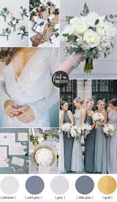 color palette gray shades of grey winter wedding color palette winter wedding ideas