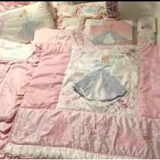 Cinderella Crib Bedding Disney Baby Cinderella Crib Bedding Set Mercari Anyone Can Buy