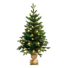 small white christmas tree with lights christmas tree small potted care wire with lights trees 2ft