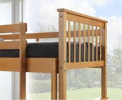 Beech Bunk Beds Calder Beech Finished Single Bunk Bed With Storage Drawers