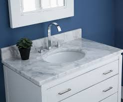 Manhattan  Inch Contemporary Bathroom Vanity White Finish - Bathroom vanities with tops 30 inch