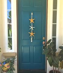 beach theme home decor popular items for beach theme on etsy decor starfish door hanging