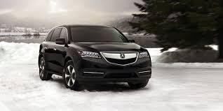 Acura Nsx Black 2014 Acura Mdx Black Snow Background Image Acura Carland Blog