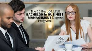 the 20 best online bachelor in business management degree programs