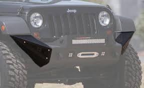 jeep aftermarket bumpers 2007 2017 jeep jk kc hilites side pods road bumpers