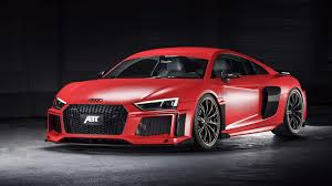 audi r8 v10 plus gets striking looks 20 hp bump from abt