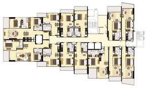 floor plans wong amat tower pattaya by heights holdings